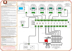 standard control wiring diagram optimum underfloor heating. Black Bedroom Furniture Sets. Home Design Ideas